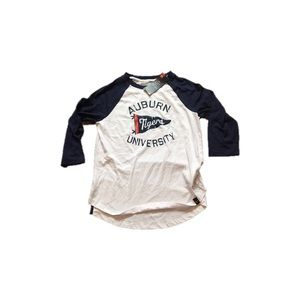 Auburn Tigers UA Women's 3/4  Raglan Shirt Small